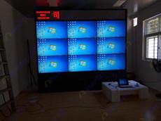 湖北凯龙化工集团艾维图46寸3x3超窄边拼接大屏幕应用案例
