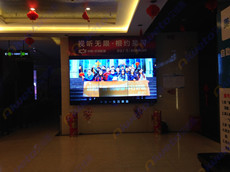 江西赣州星际国际影城—9台艾维图46寸液晶拼接单元应用案例