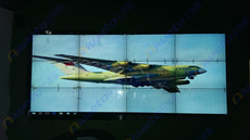 山东莱州市民广场科技馆12台艾维图47寸液晶拼接系统应用案例