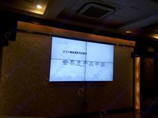 上海美博音乐广场4台艾维图55寸无缝液晶拼接屏系统应用案例