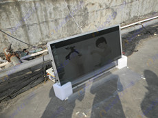 Aiweto(艾维图)10台55寸高亮广告机顺利出货