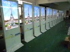 内蒙古通辽圆创传媒采购艾维图38台55寸立式广告机