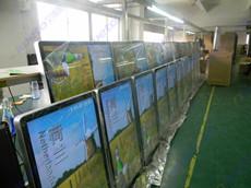 青岛啤酒厂购买590台Aiweto 42寸网络版广告机产品
