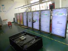陕西西安320台55寸苹果款广告机项目案例