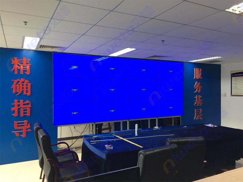 艾维图液晶拼接屏助力安徽省芜湖市鸠江区公安局监控大厅