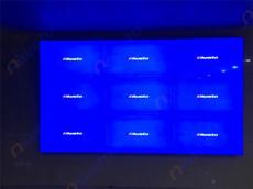 福建省三明永安市供排水应用艾维图49寸拼接显示大屏