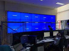 河北省沧州市塑黄铁路监控大厅液晶拼接大屏幕显示系统