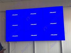 河北省洛阳市昊海环保科技展厅应用9台液晶拼接大屏幕产品