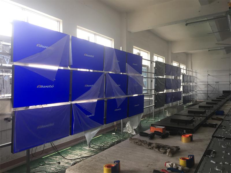武汉加油!中国加油!湖北客户该如何买到有质量保障的液晶拼接屏厂家产品?