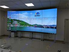 新疆和田地区生态监测系统采用12台艾维图55寸高清液晶拼接屏