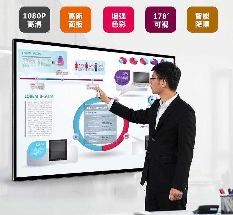 触摸液晶广告机产品技术创新,厂家需创造出更大价值