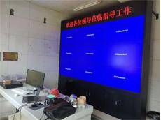 【山东大屏幕厂家】LG49寸液晶拼接屏产品安装在山东省枣庄凯乐化工有限公司监控室